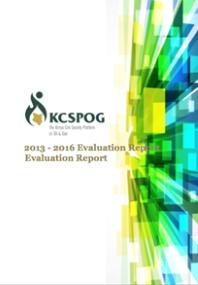 KCSPOG Evaluation Report